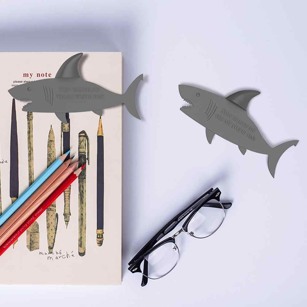 3D Shark Bookmark Student Innovative Bookmark Animal Book Mark Office Student School Supplies