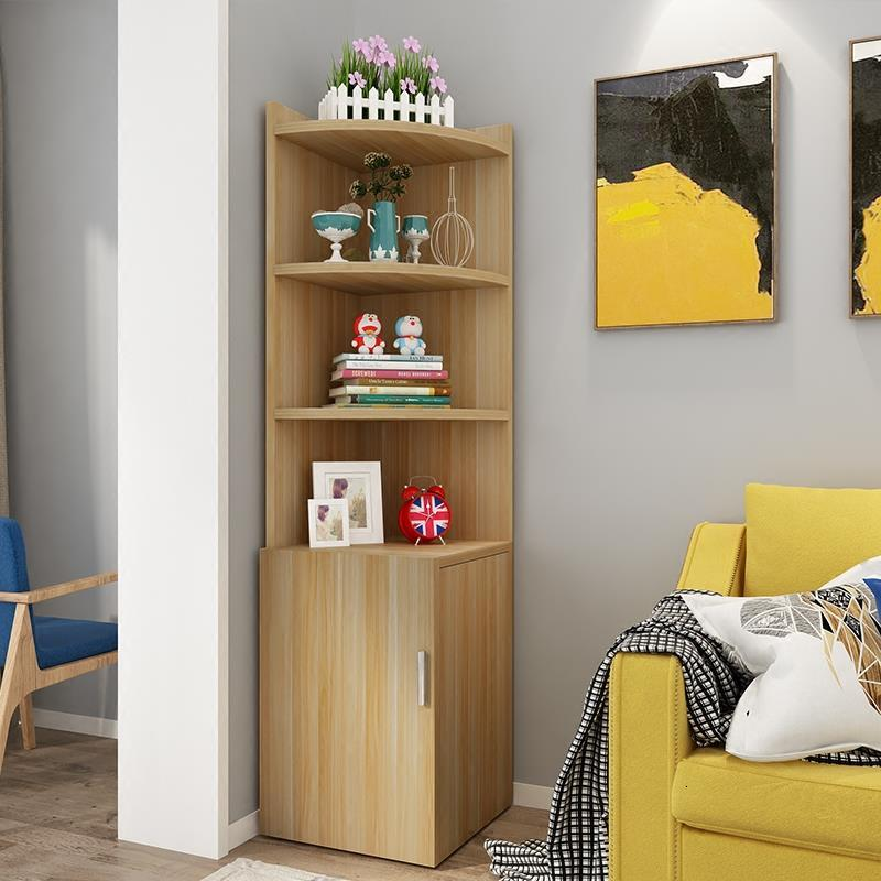 Madera Wooden Kasten Wood Furniture Small Display Living Room Meuble Salon Mueble Sala Placard De Rangement Corner Cabinet