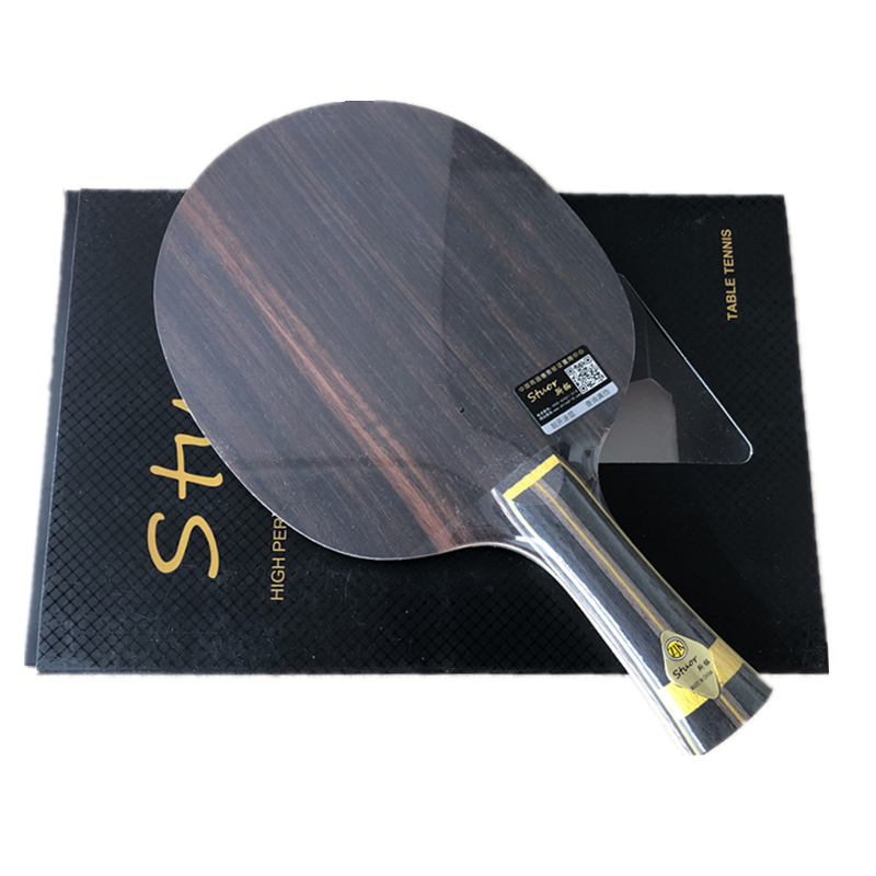 Stuor 19 New BLACK GOLD Provincial (Ebony Innerforce ALC, OFF+) Table Tennis Blade Racket Ping Pong Bat Paddle