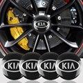 Автостайлинг 4 шт. 56 мм колпачки для центра колеса автомобильных шин наклейка для KIA Ceed picanto rio 3 4 Cerato Sportage R K2 K3 K5 аксессуары