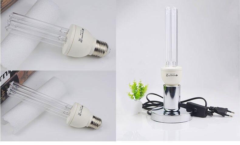 SODIAL Lampada Germicida UV 100W LED E27 AC220V Lampada Disinfezione con Lampadina UVC