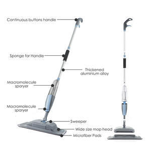 Image 3 - סמרטוט 3 ב 1 ספריי סמרטוט מטאטא מכונה שואב אבק קשה רצפת שטוח ניקוי כלי סט עבור ביתי יד כף קל להשתמש סמרטוט