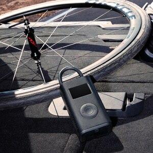 Image 5 - Le plus nouveau Xiaomi Mijia Portable intelligent numérique détection de pression des pneus pompe de gonflage électrique pour vélo moto voiture Football