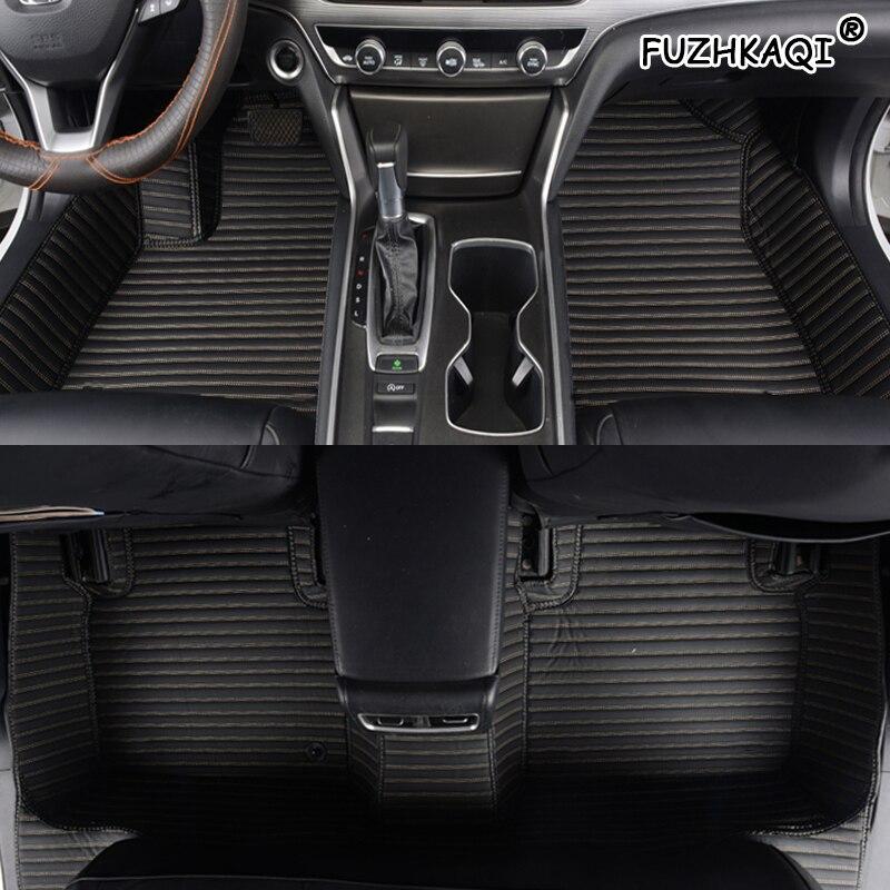 FUZHKAQI tapis de sol de voiture sur mesure pour MG GT MG5 MG6 MG7 mg3 SW mg TF ZR ZT ZT-T tapis de pied accessoires de voiture tapis de style de voiture
