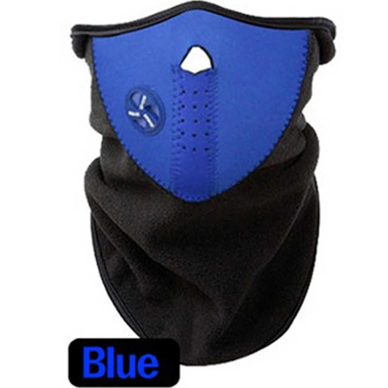 Erkek/Kadın Kayak Maskesi Kış Kar Sıcak Peluş Boyun/Yüz Maskesi Kar Araci Kayak Kızak Snowboard Açık Soğuk geçirmez Spor Güvenlik Eşarp