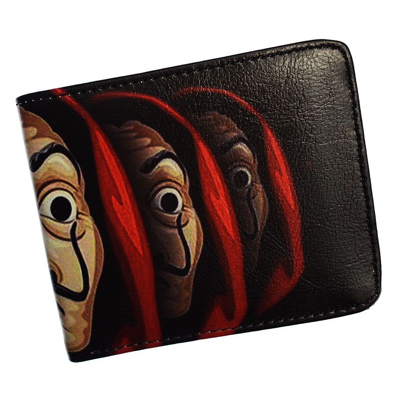 New Arrival LA CASA DE PAPEL Wallet With Coin Pocket High Quality PU Leather Purse
