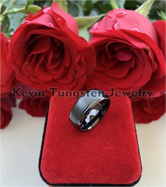 Обручальное кольцо для мужчин и женщин ширина 8 мм с полированным
