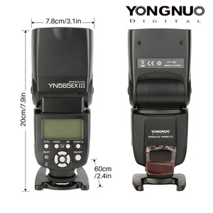 Image 5 - YONGNUO YN565EX III Wireless TTL Slave Flash Speedlite GN58 High Speed Recycling System Supports USB Firmware Upgrade for Canon