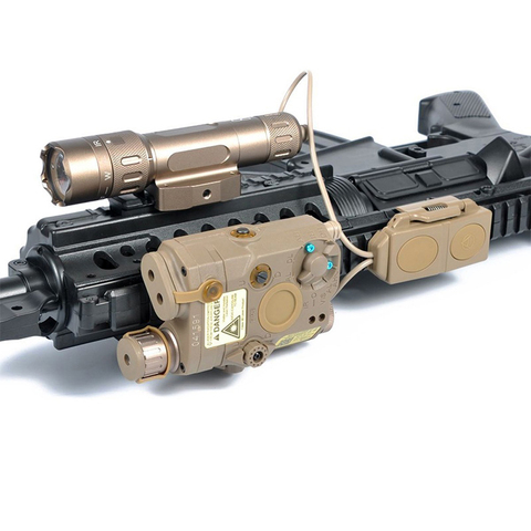 remoto para dbal mkii peq 16a m3x wmx200 lanterna softair arma luz