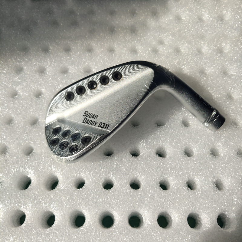 Golf Clubs 0311 Gen3 Silvery 0311 Gen3 Golf Wedges 50 52 54 56 58 60 Degree Steel Shaft With Head Cover Free Shipping