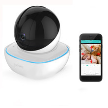 Loosafe V8-S Mini Panoramic 1080P PT 360° Wireless IP Camera H.264 M-otion Detection Home WIFI Camera Baby Sleeping Monitors(China)