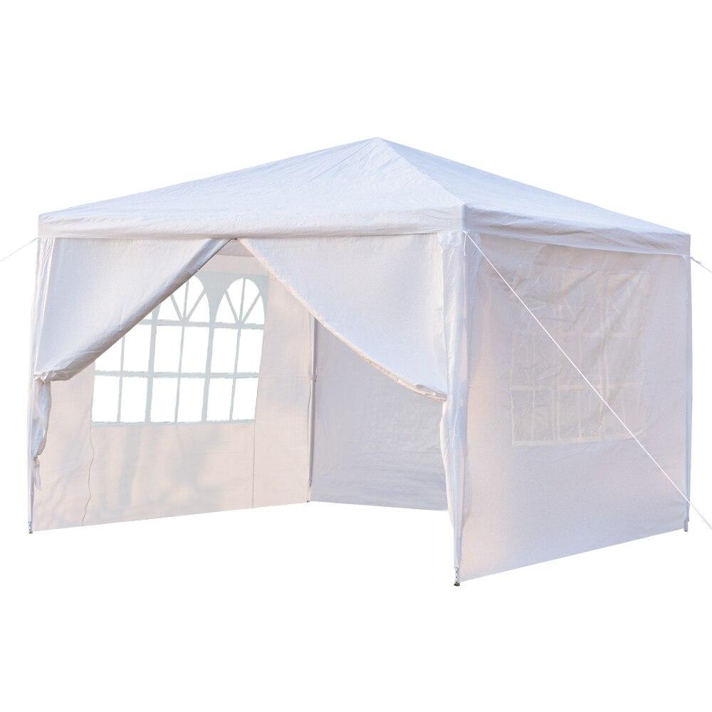 3x3 m quatro lados tenda festa de casamento tenda portátil casa jardim tenda gazebo tenda à prova dskuágua para eventos sku51280911