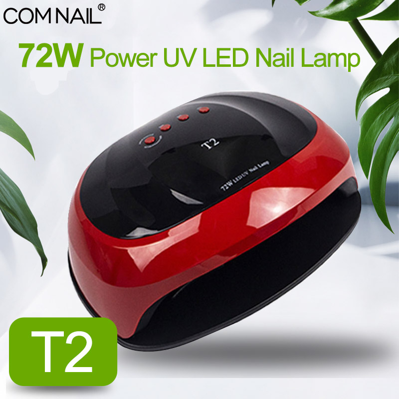 UV LED Nail Lamp 72W Manicure Dryer For Curing All Gel Varnish Nail Art Tools 30s/60s/90s Two Hands Curing Nails Drying Machine
