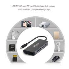 TypeC CB01A HDMI RJ45 PD Thunderbolt 3 Adapter for Apple MacBook Galaxy Huawei Matebook Pro multi-function docking station HUB