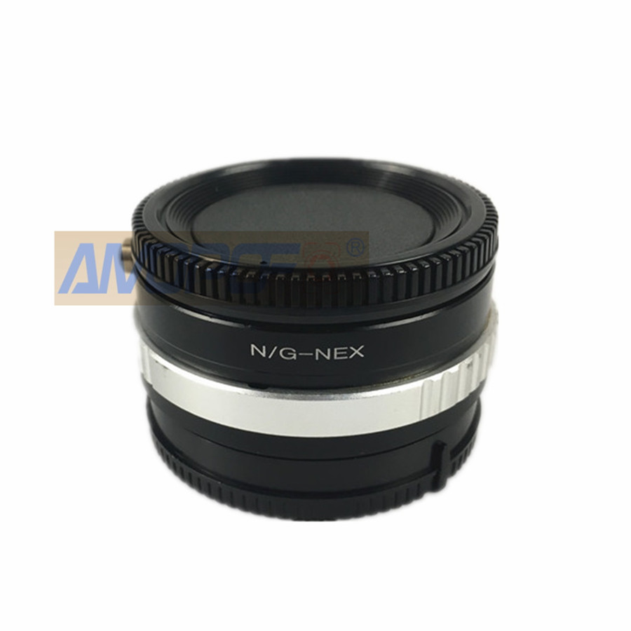 Amopofo Nikon F AF-S G Lens to Sony E Mount Adapter NEX Macro Focusing A6000 7