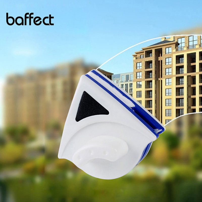 Baffect Magnetic Window Cleaner Wiper Window Cleaning Brush Double Sided Brush Cleaner for Washing Window Useful Glass Cleaner
