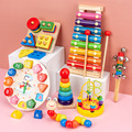 Montessori Educational Wooden Toys 3D Wooden Puzzles For Kids Baby Toys Montessori Educational Toys For Babies Montessori Puzzle