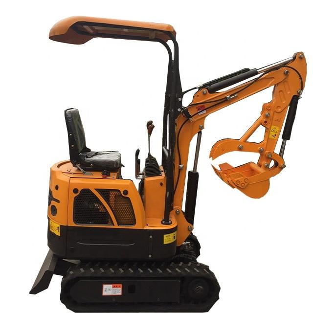 Mini Excavator Mini Digger Hydraulic Crawler 1Ton Small Excavator For Sale