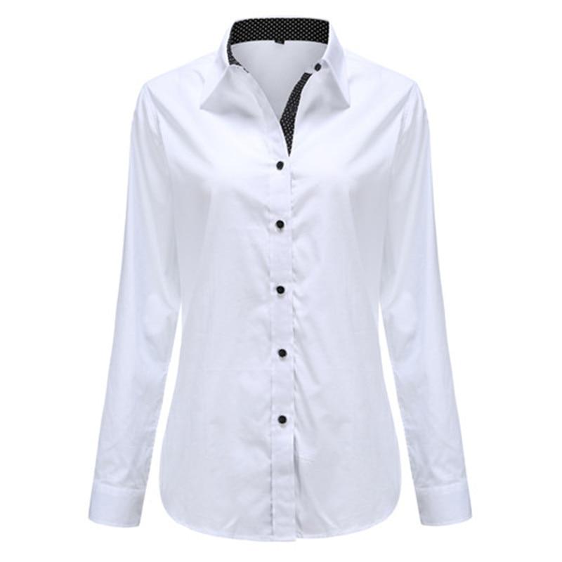 Dioufond Solid Oxford Mint Women Blouses Long Sleeve Causal Blouse Shirt Simple Design Ladies Office Shirt Summer 2017 S-5XL