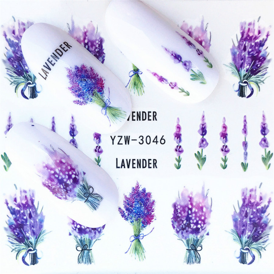 1Pcs Fashion Lavender Nail Art Files Dust Brush Cleaning Buffer Sponge Buffing Grit Sand UV Gel Polish Acrylic Manicure Tools(China)