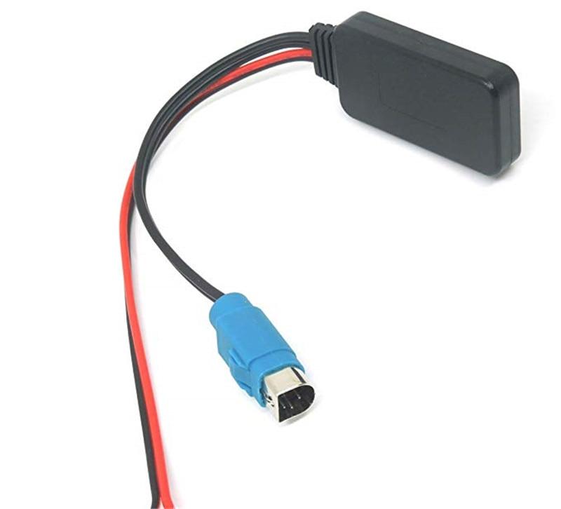 Автомобильный Aux Bluetooth адаптер модуль Bluetooth автомобильный комплект аудио приемник стерео Aux радио кабель для Alpine KCE-236B CDE-9872 CDA