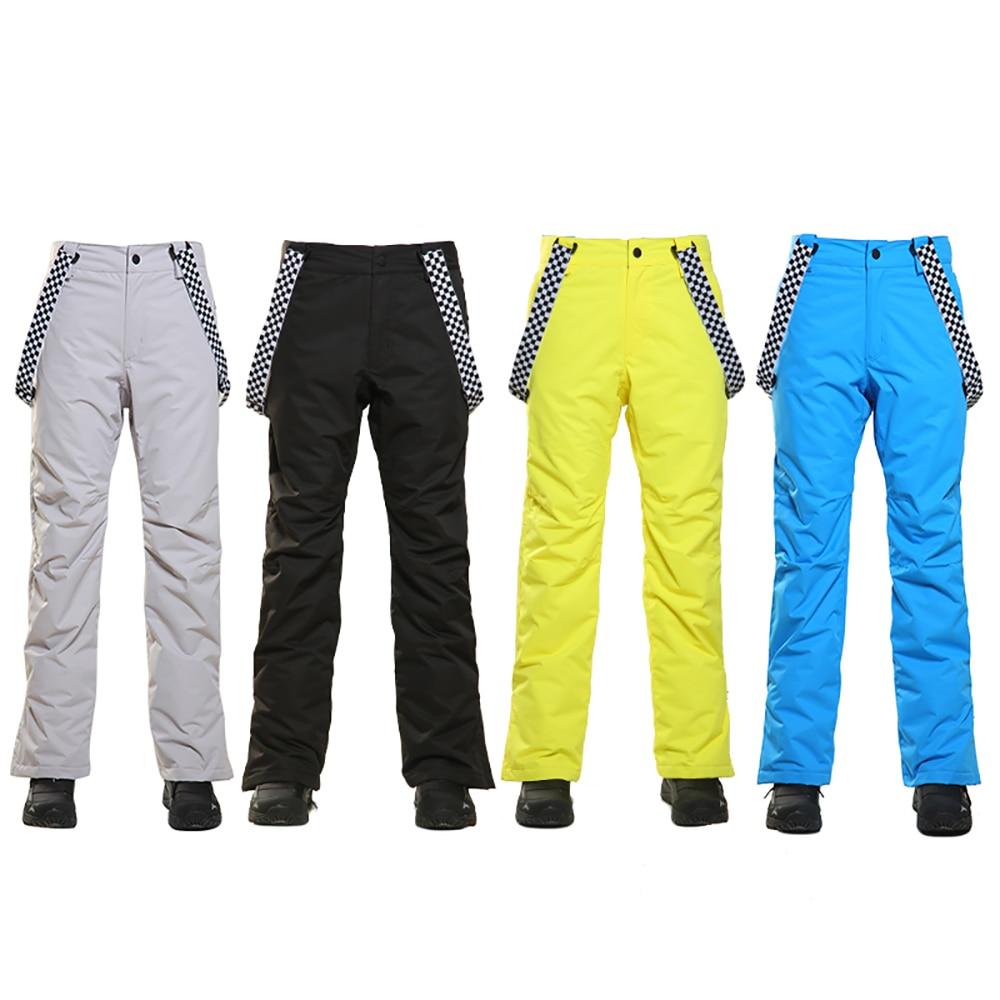 SIMAINING hommes pantalon de Ski imperméable coton hiver chaud Snowboard neige pantalon de Ski en plein air pantalon de Ski pour les hommes - 5