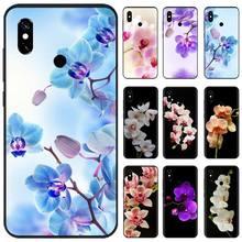 Orchid Flowers Colorful Fashion Soft Phone Case For Xiaomi Mi A1 A2 5 6 6PLUS 8 9 SE Lite MIX 2 2S MAX 2 3 Pocophone F1 lavaza comic schwarz punisher anime hard phone cover for xiaomi mi 8 a2 lite 9 se a1 max 3 f1 for redmi 7 go case