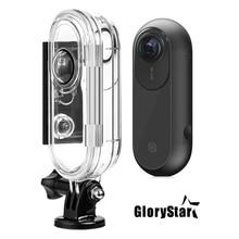 GloryStar 45M تحت الماء للماء واقية حالة الغوص الإسكان ل إنستا 360 واحد VR عمل الرياضة ملحقات الكاميرا