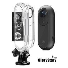 GloryStar 45M Chống Nước Dưới Nước Bảo Vệ Lặn Nhà Ở Cho Bộ máy 360 Một VR Hành Động Camera Thể Thao Phụ Kiện