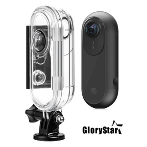 Image 1 - GloryStar 45M Waterproof Underwater Protective Case Diving Housing For Insta 360 One VR Action Sport Camera Accessory