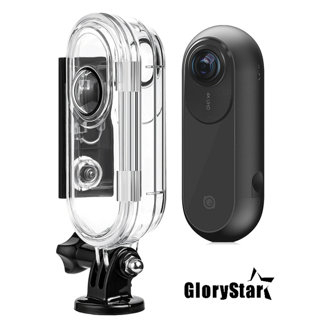 GloryStar 45M Waterproof Underwater Protective Case Diving Housing For Insta 360 One VR Action Sport Camera Accessory