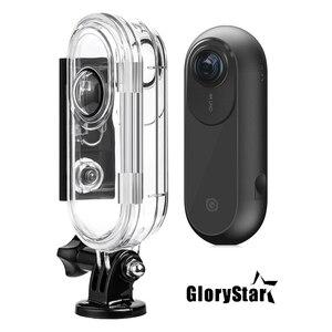 Image 1 - GloryStar 45M custodia protettiva subacquea impermeabile custodia subacquea per Insta 360 One VR Action Sport Camera accessorio