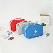 Trousse de premiers soins Portable, moyenne, vide, multi-couches, Kit d'urgence pour voiture, extérieur, voyage, survie, sauvetage