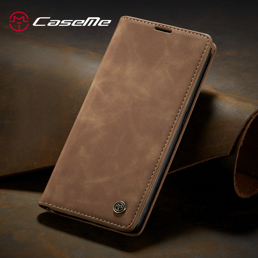 CaseMe Retro <font><b>Case</b></font> For <font><b>Samsung</b></font> Galaxy A50 A30 A70 A40 A80 A20e <font><b>M10</b></font> M20 S7 S7edge S8 S9 Note10 Plus <font><b>Flip</b></font> <font><b>Leather</b></font> <font><b>Wallet</b></font> Cover <font><b>Case</b></font> image