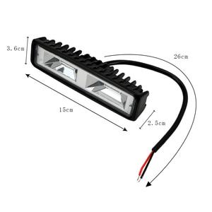 Image 5 - 안개 램프 12 24V 36W 자동 오토바이 트럭 보트 트랙터 트레일러 Offroad 작업 빛 LED 작업 빛 스포트 라이트 LED 헤드 라이트