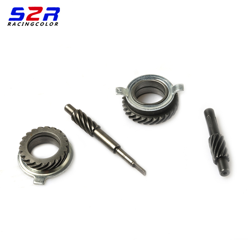 S2R Motorcycle Meter Drive Gear Unit Assy for YAMAHA YBR125 JYM125 YBR YB JYM YP 125 Drum Brake Speedometer Speedo Gear