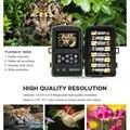 1080P Jagd Kameras IP66 Wasserdicht Nachtsicht für Tier Foto Wildlife Kamera 940Nm 120 Grad Betrachtungs Kamera Fallen