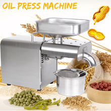Oil-Press-Machine Extraction Expeller Peanut Coconut-Olive-Extractor Automatic-Oil Stainless-Steel