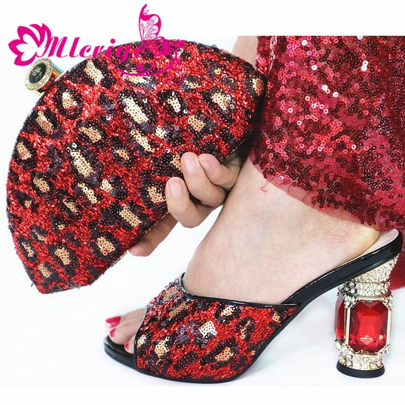 2019 модный итальянский дизайн обувь на высоком каблуке обувь и сумка в комплекте в нигерийском стиле; комплект из туфель и сумочки в белом цвете; женские вечерние туфли и сумочка в комплекте - 3