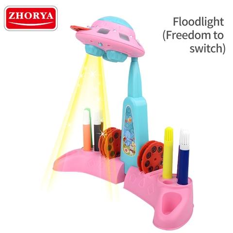 maquina de pintura projecao plastico criancas brinquedo