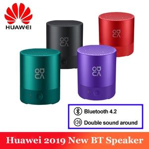 Image 1 - Original huawei mini alto falante sem fio bluetooth 4.2 estéreo baixo som mãos livres micro usb carga ip54 nova à prova dwaterproof água alto falante