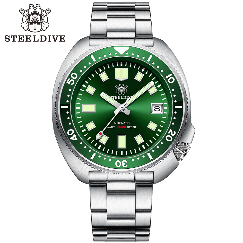 Hb59b7d4216a04bcf966cff6f21996884N SD1970 Steeldive Brand 44MM Men NH35 Dive Watch with Ceramic Bezel