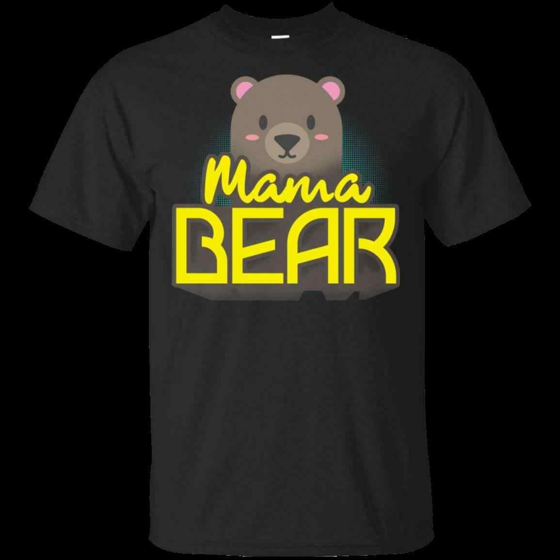 Mama Beer Mama Mama Moeder Moeders Dag Leuke Familie T-shirt Gift Meme Volledige S-5xl