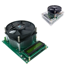 150W sabit akım elektronik yük 60V 10A pil test cihazı deşarj kapasitesi Tester ölçer 12V 24V 48V