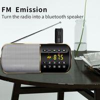 fm משדר USB לרכב 5.0 Bluetooth מתאם מקלט FM מתאם אלחוטי משדר (1)