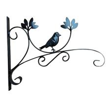 Железный цветочный горшок, цветочная корзина, фонарь, подвесной крючок для корзин, кронштейн для улицы, на балкон, настенная вешалка для цветов