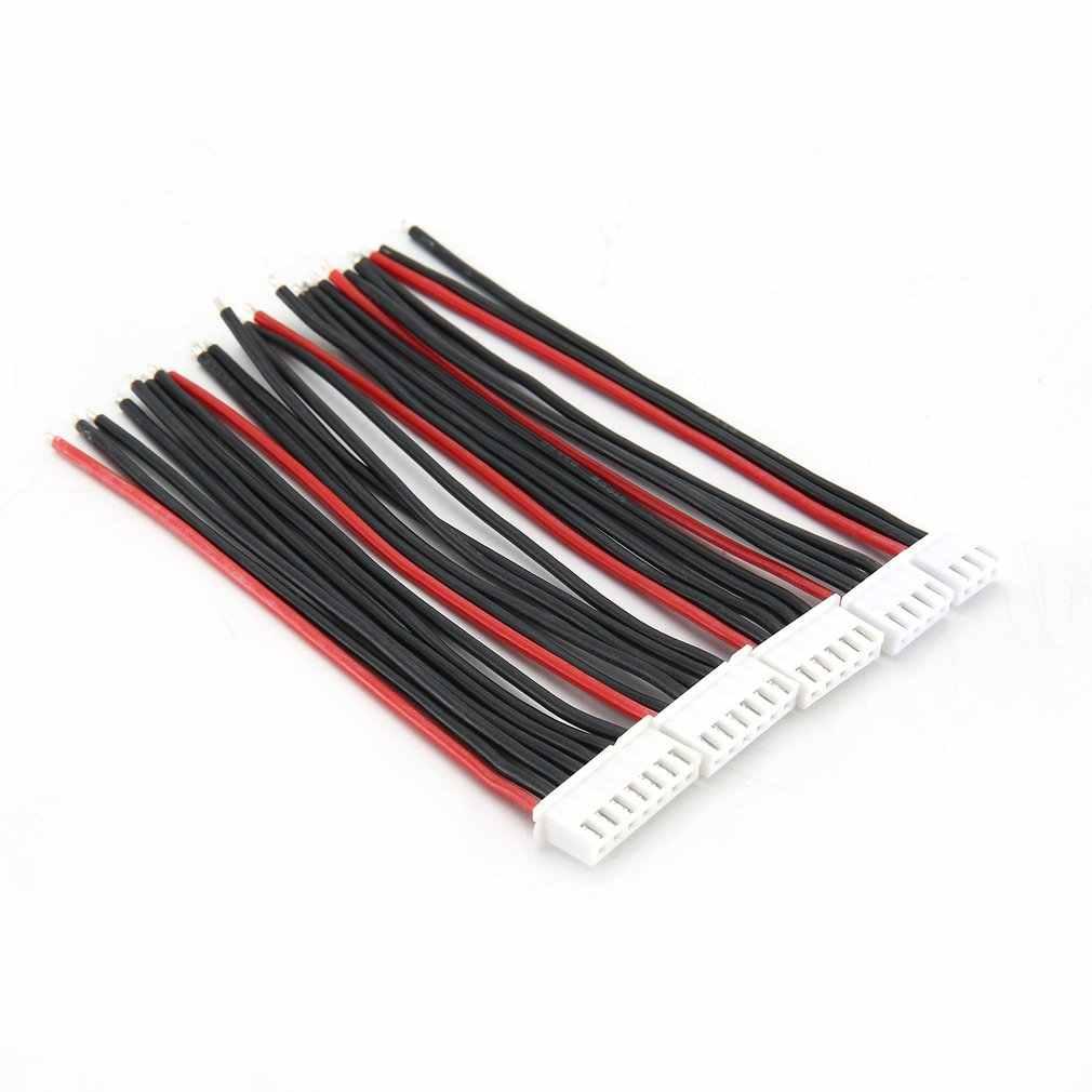 5 Pcs/lot 100 Mm 22AWG Plug RC Lipo Battery Balance Charger 2 S 3 S 4 S 5 5 S 6 S 22AWG Line Kabel untuk IMAX B3 B6