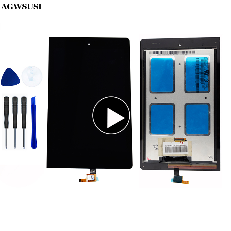 For Lenovo B6000 60044 LCD Display Touch Screen Digitizer Assembly Frame Replacement For Lenovo Yoga Tablet 8 B6000 60043