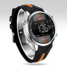 Fashion Brand Watch Men Waterproof Sport Watch Outdoor Silic