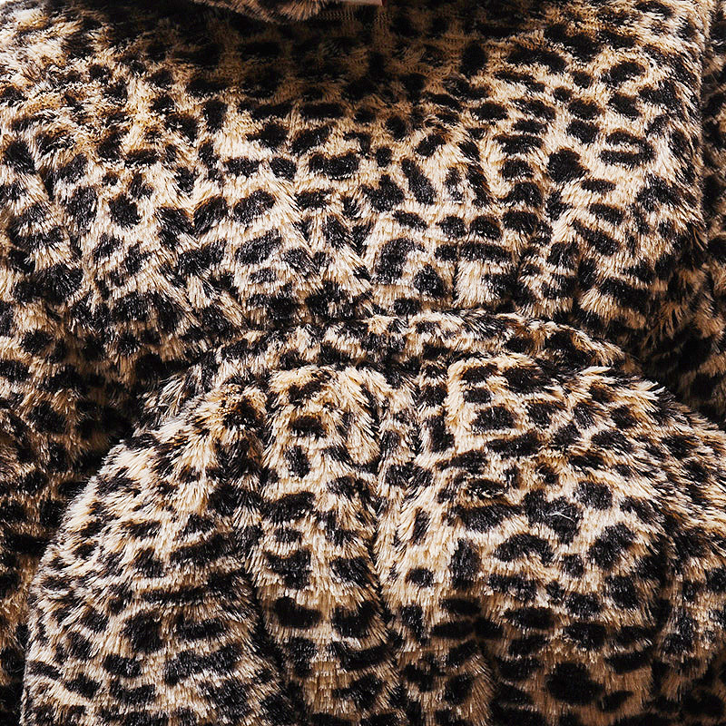 DD28冬豹纹单件棉衣